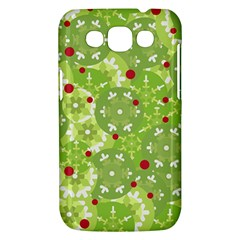 Green Christmas decor Samsung Galaxy Win I8550 Hardshell Case