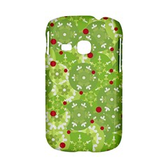 Green Christmas decor Samsung Galaxy S6310 Hardshell Case