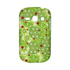 Green Christmas decor Samsung Galaxy S6810 Hardshell Case