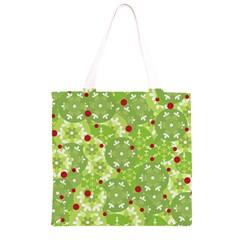 Green Christmas decor Grocery Light Tote Bag