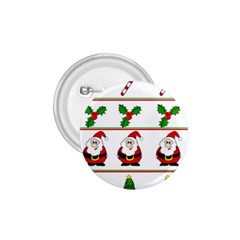 Christmas pattern 1.75  Buttons