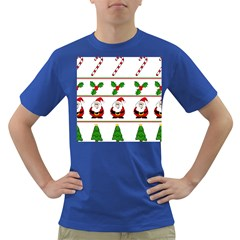 Christmas pattern Dark T-Shirt