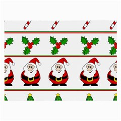 Christmas pattern Large Glasses Cloth (2-Side)
