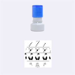Christmas pattern Rubber Round Stamps (Small)