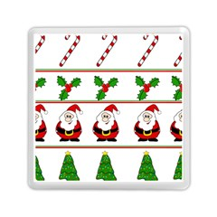 Christmas pattern Memory Card Reader (Square)