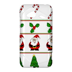 Christmas pattern HTC Droid Incredible 4G LTE Hardshell Case