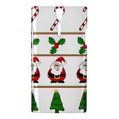 Christmas pattern Sony Xperia S