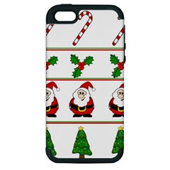 Christmas pattern Apple iPhone 5 Hardshell Case (PC+Silicone)