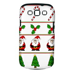 Christmas pattern Samsung Galaxy S III Classic Hardshell Case (PC+Silicone)