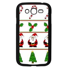 Christmas pattern Samsung Galaxy Grand DUOS I9082 Case (Black)