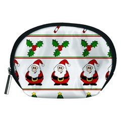 Christmas pattern Accessory Pouches (Medium)
