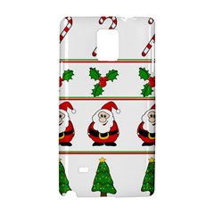 Christmas pattern Samsung Galaxy Note 4 Hardshell Case