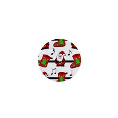 Christmas song 1  Mini Magnets