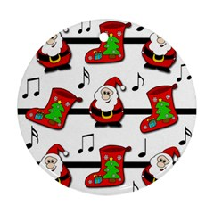 Christmas song Ornament (Round)