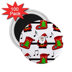 Christmas song 2.25  Magnets (100 pack)