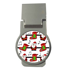 Christmas song Money Clips (Round)