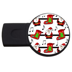 Christmas song USB Flash Drive Round (1 GB)