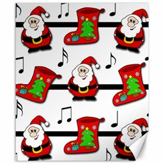 Christmas song Canvas 8  x 10
