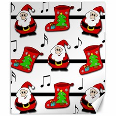 Christmas song Canvas 20  x 24