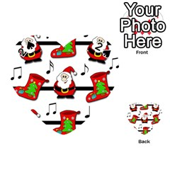 Christmas song Playing Cards 54 (Heart)