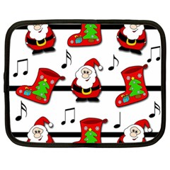 Christmas song Netbook Case (XXL)