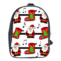 Christmas song School Bags(Large)