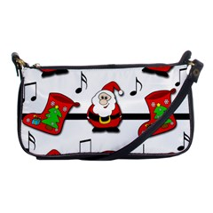 Christmas song Shoulder Clutch Bags