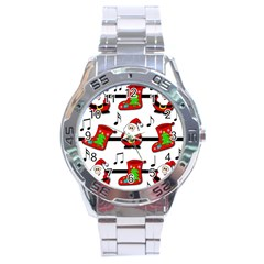 Christmas song Stainless Steel Analogue Watch