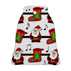 Christmas song Bell Ornament (2 Sides)