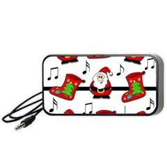 Christmas song Portable Speaker (Black)