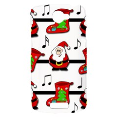 Christmas song HTC One S Hardshell Case