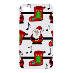 Christmas song Apple iPhone 4/4S Premium Hardshell Case
