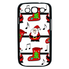 Christmas song Samsung Galaxy S III Case (Black)