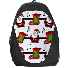 Christmas song Backpack Bag