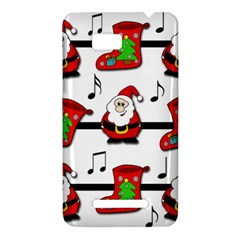 Christmas song HTC One SU T528W Hardshell Case