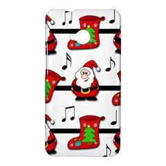 Christmas song HTC One M7 Hardshell Case