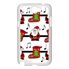 Christmas song Samsung Galaxy Note 2 Case (White)
