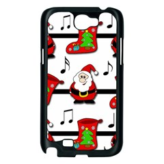 Christmas song Samsung Galaxy Note 2 Case (Black)