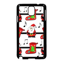Christmas song Samsung Galaxy Note 3 Neo Hardshell Case (Black)