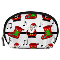 Christmas song Accessory Pouches (Large)