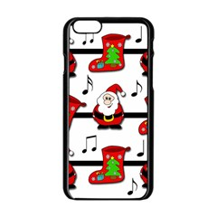 Christmas song Apple iPhone 6/6S Black Enamel Case