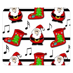 Christmas song Double Sided Flano Blanket (Small)