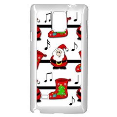 Christmas song Samsung Galaxy Note 4 Case (White)