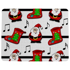 Christmas song Jigsaw Puzzle Photo Stand (Rectangular)