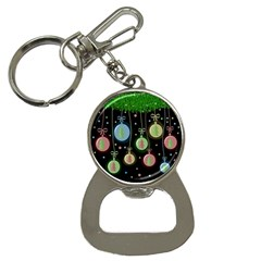 Christmas balls - pastel Bottle Opener Key Chains