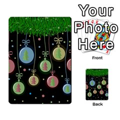 Christmas balls - pastel Multi-purpose Cards (Rectangle)
