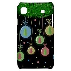 Christmas balls - pastel Samsung Galaxy S i9000 Hardshell Case