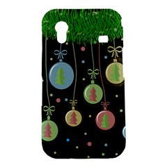 Christmas balls - pastel Samsung Galaxy Ace S5830 Hardshell Case