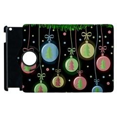 Christmas balls - pastel Apple iPad 2 Flip 360 Case