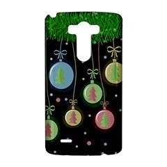 Christmas balls - pastel LG G3 Hardshell Case